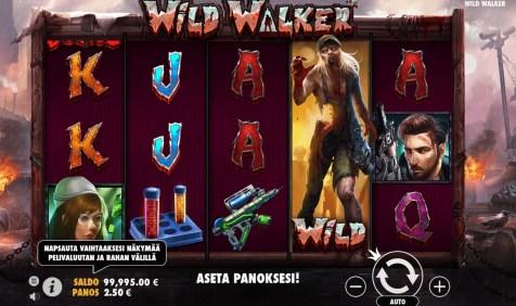 Wild Walker Peli Näyttää Hyvältä