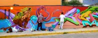 New mural on Tinoco y Palacios.