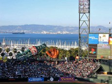 View from AT&T Park in San Francisco