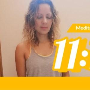 Desarrolla fuerza y seguridad interior - 11 minutos de Yoga y Meditación. Tips de Aurora - youtube