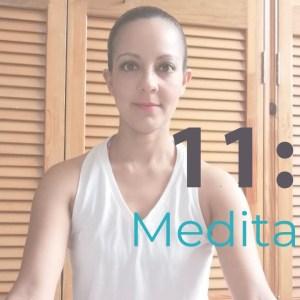 Meditación para liberar el corazón - 11 minutos de Yoga y Meditación. Tips de Aurora - youtube