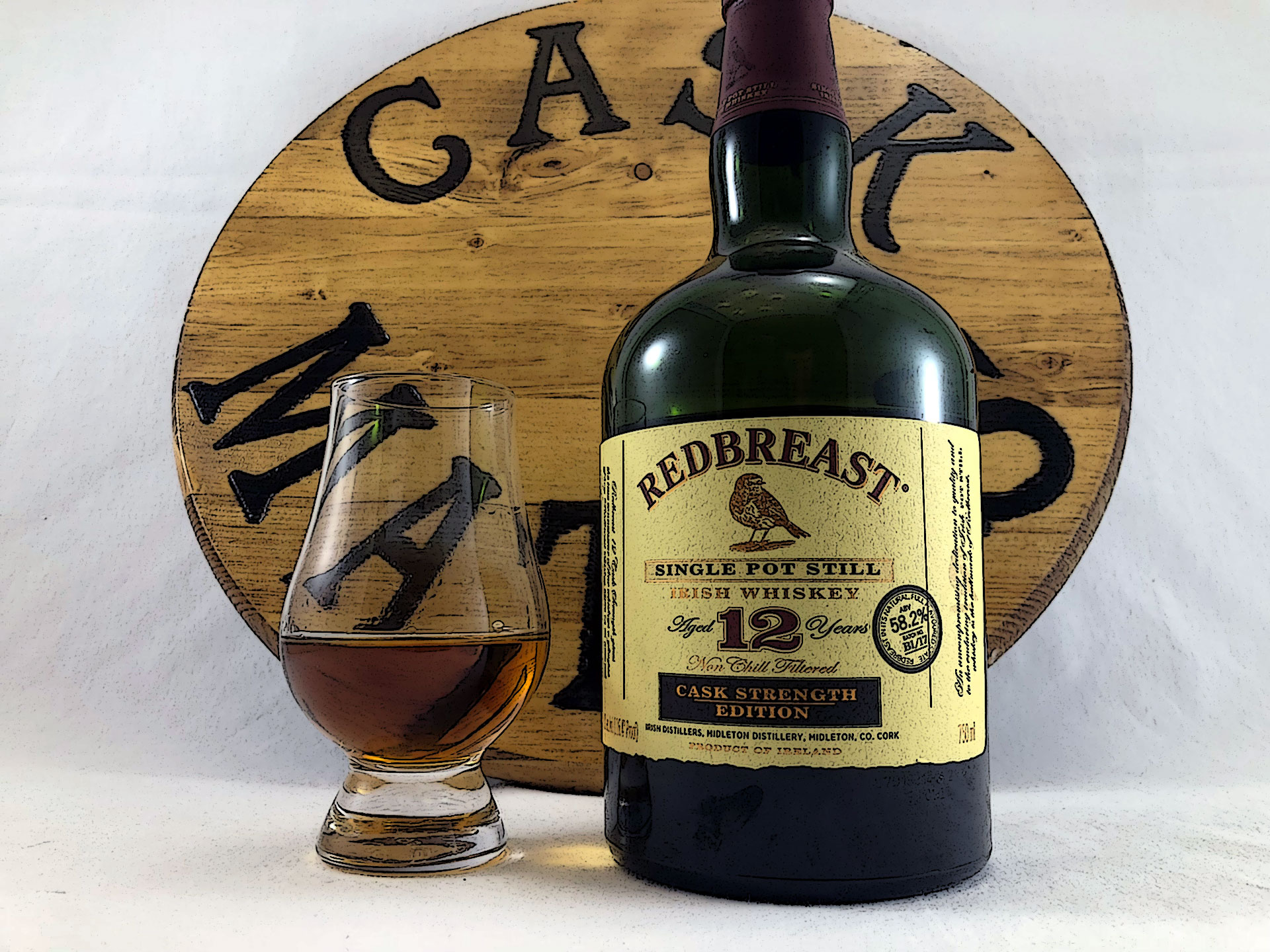 Redbreast 12 Year Cask Strength Whiskey