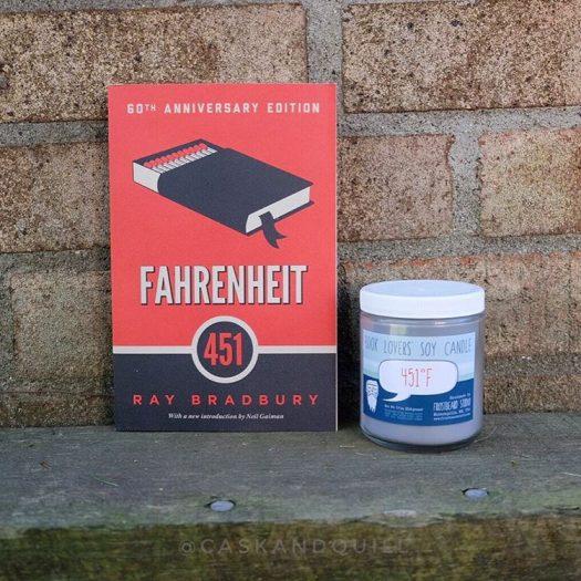 Fahrenheit 451, Ray Bradbury, Frostbeard candle