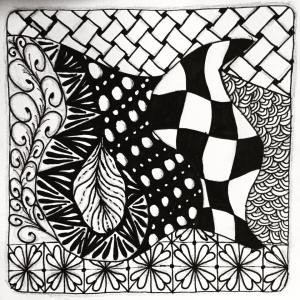 zentangle drawing