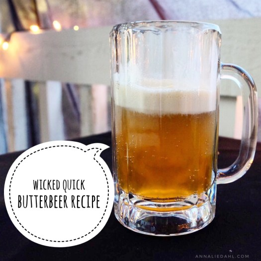 Wicked Quick Butterbeer Recipe