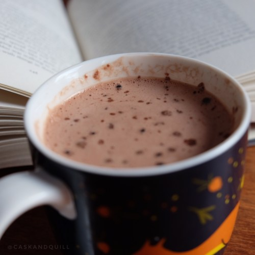 Alcoholic Mint Hot Chocolate