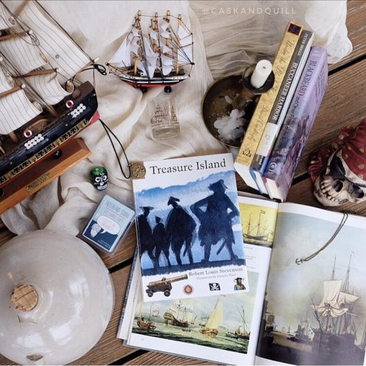 treasure island, pirate books