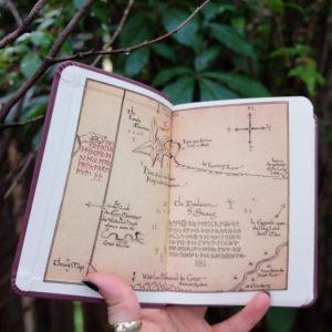 Thror's Map, moon runes, The Hobbit, Tolkien