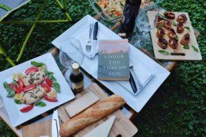 Under the Tuscan Sun dinner table