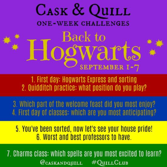 Back to Hogwarts Instagram photo challenge