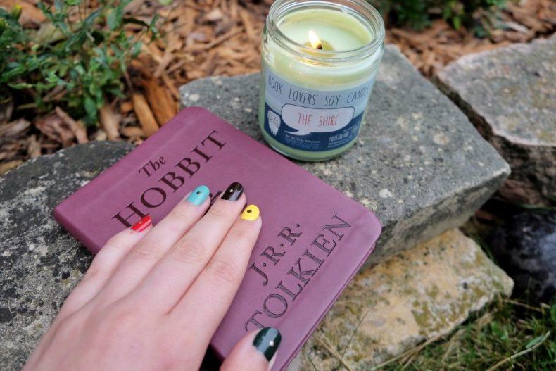 Hobbit door nail art