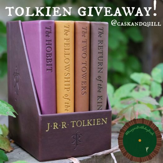 Tolkien Giveaway at Cask & Quill