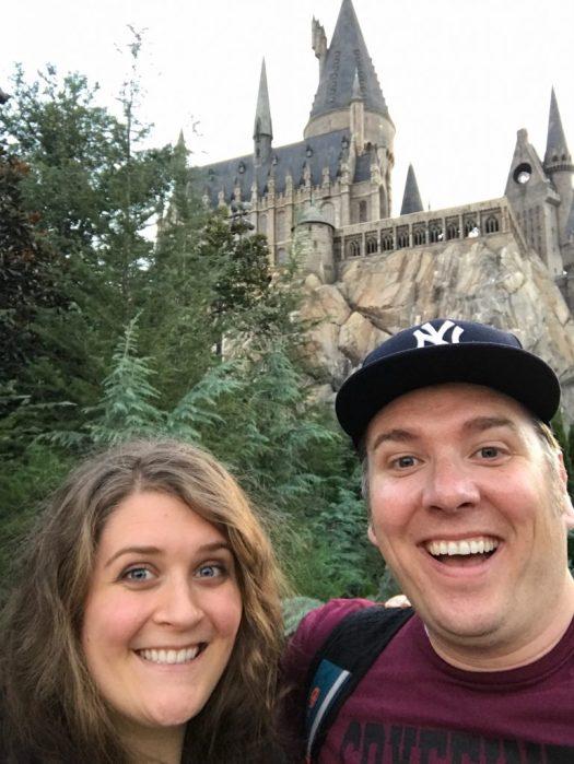 Anna and Nick at Hogwarts