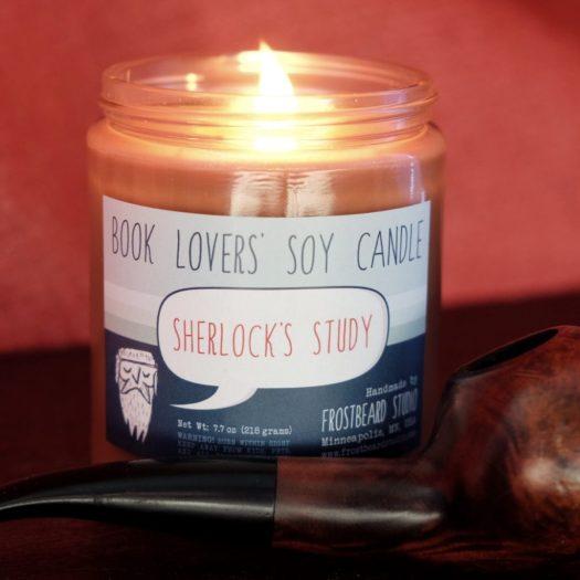 Sherlock's Study candle from Frostbeard Studio
