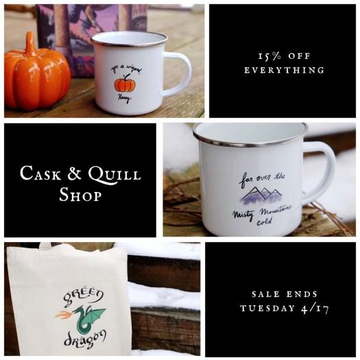 Cask & Quill Shop sale!
