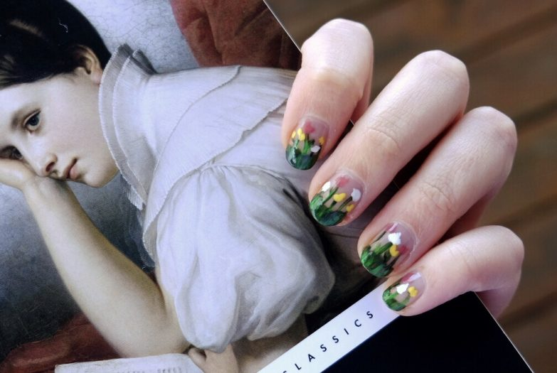 Pride and Prejudice nail art