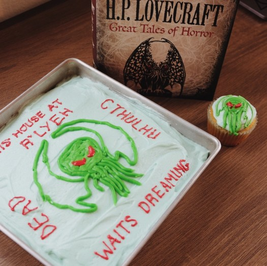 Cthulhu cake, H.P. Lovecraft