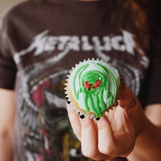 Cthulhu cupcakes