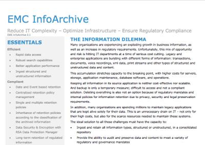 InfoArchive