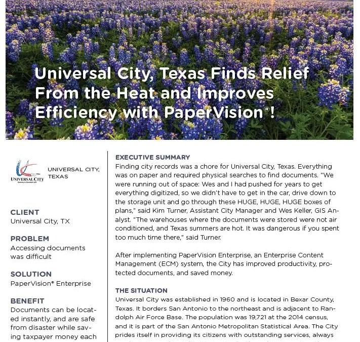 Universal City Case Study