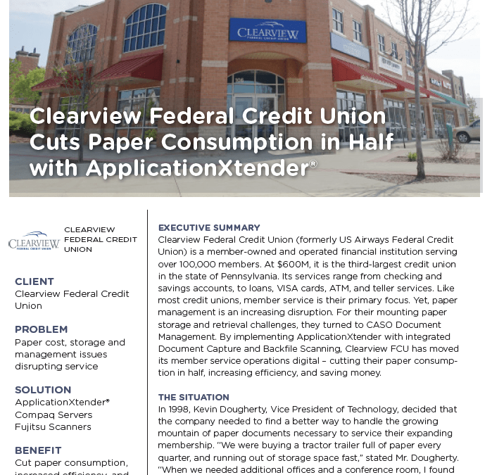 Clearview FCU Case Study