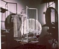 László Moholy-Nagy, Light-Space Modulator, 1922-1930, replica 1970