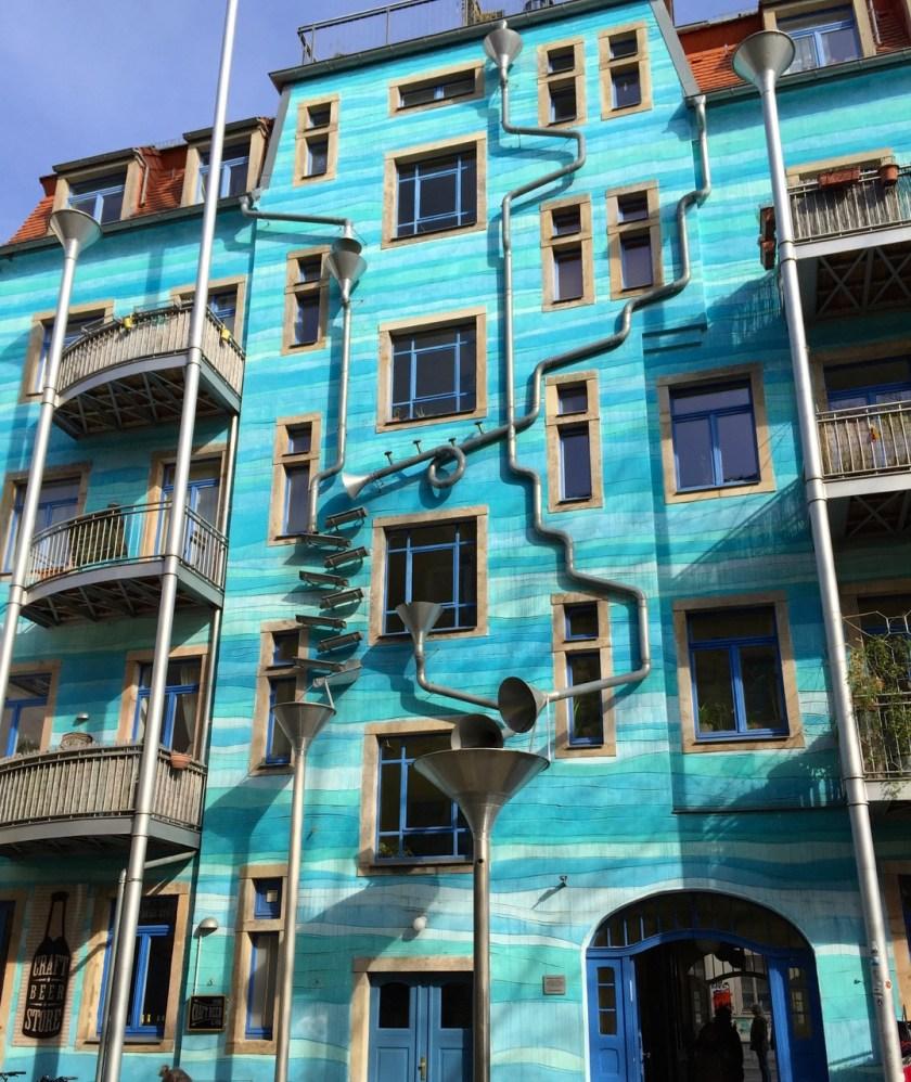 Dresden Neustadt Innenhof