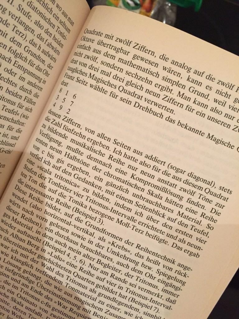 Faustus Musik Buch