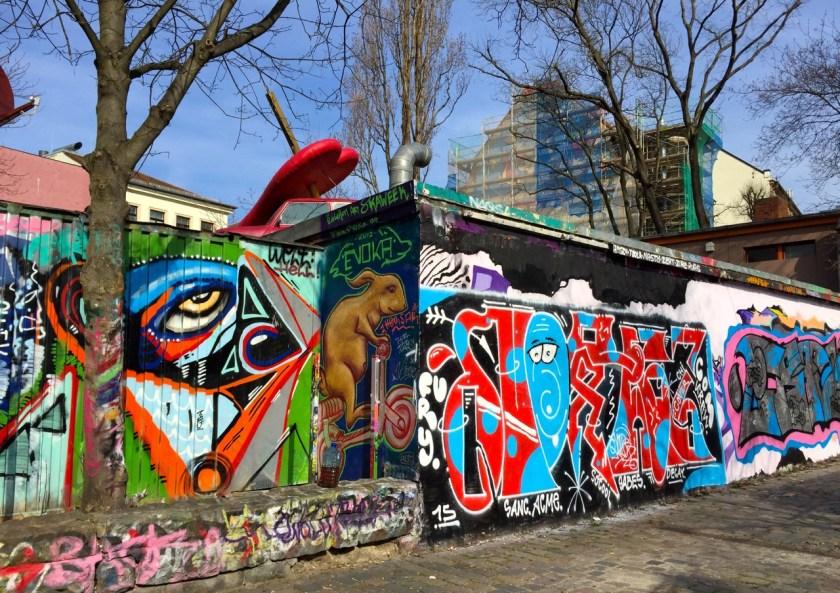Graffitiwand Neustadt