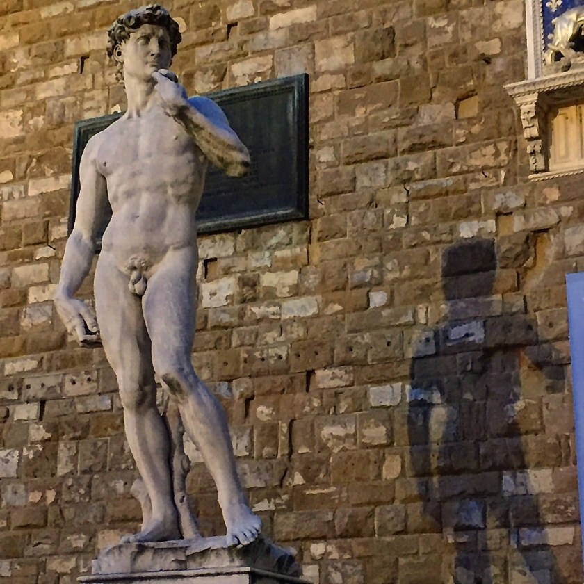 David: Die Kopie am Palazzo Vecchio (© casowi)