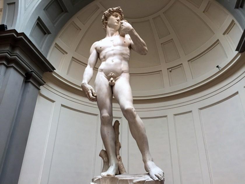 David: Michelangelos Orginal steht in der Accademia (© casowi)