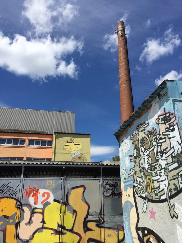 Standhaft: Der ehemalige Fabrikschlot. ©casowi