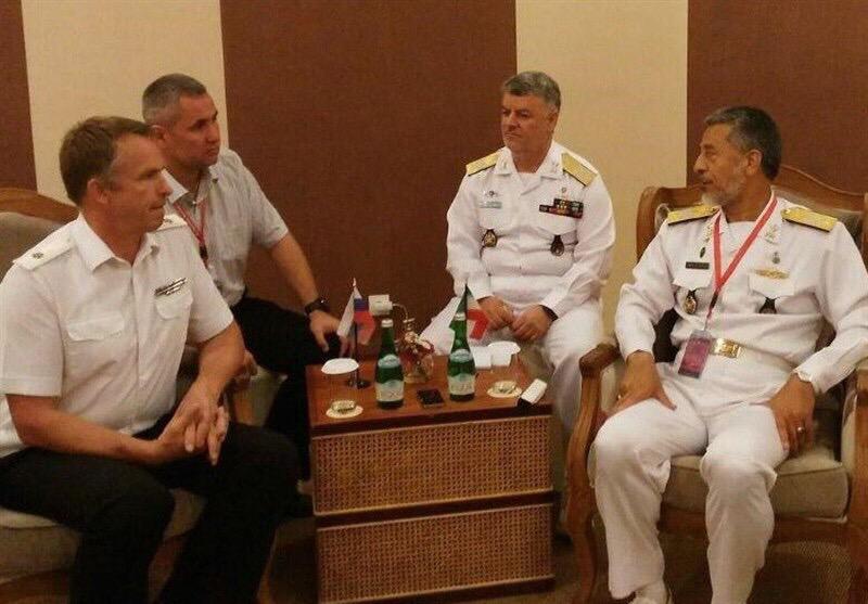 Адмиралы ВМФ Ирана и России обсудили проблемы безопасности на Каспии