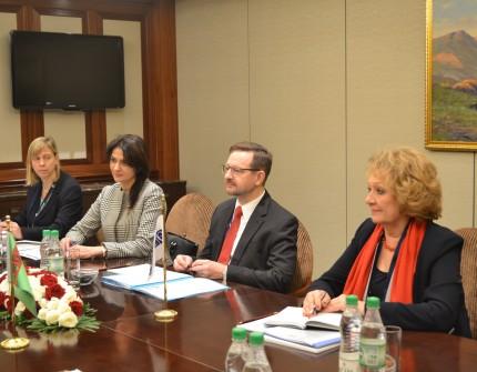 Туркменистан посетил Генеральный секретарь ОБСЕ