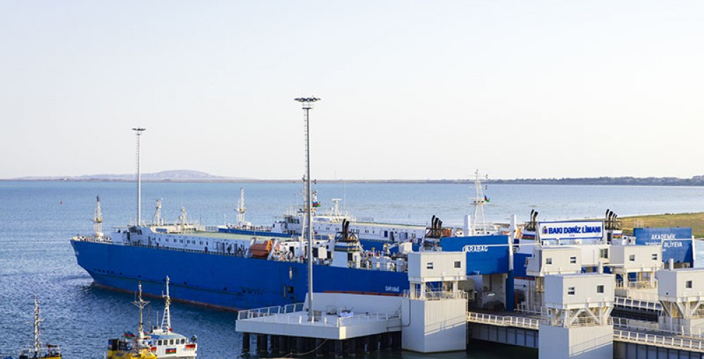 Через Каспийское море отправился очередной тестовый поезд из Китая