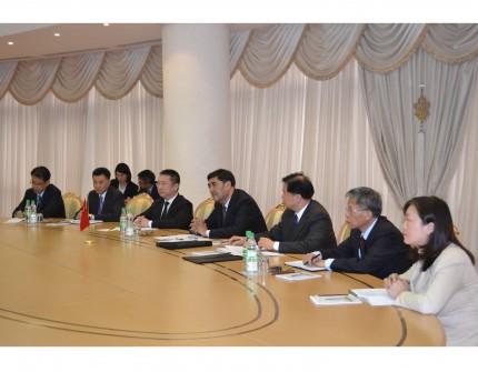 В МИД Туркменистана прошли туркмено-китайские переговоры