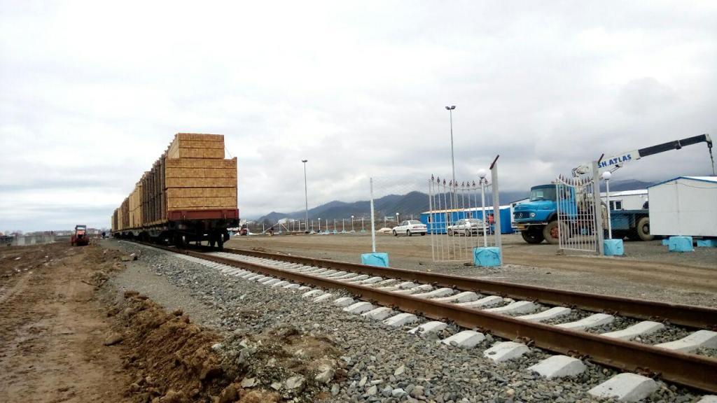 В Иран прибыл поезд из России по МТК «Север-Юг»