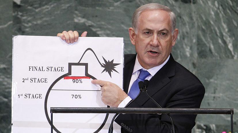Израиль продолжает подталкивать США к войне против Ирана