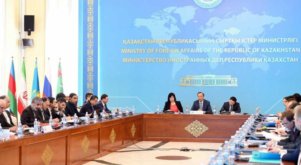 Объявлены итоги заседания рабочей группы по разработке Конвенции о статусе Каспия