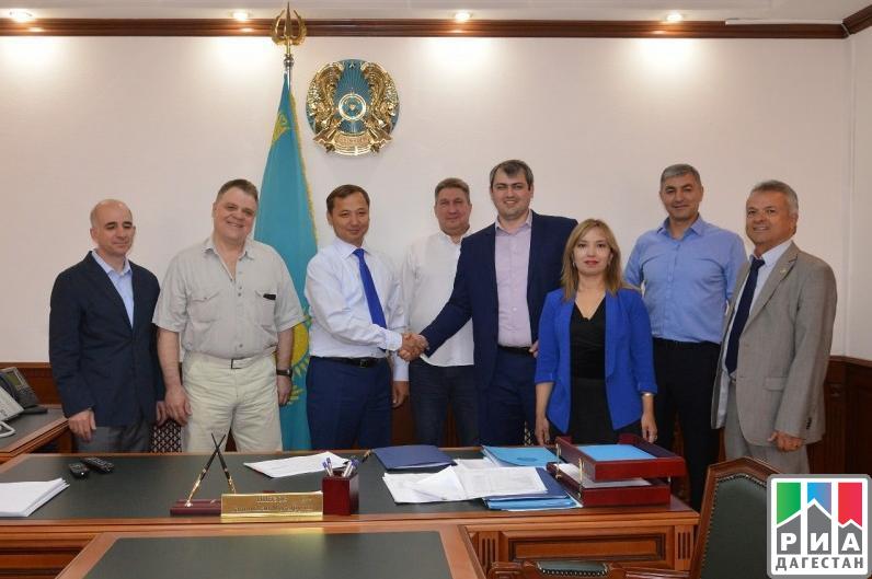 Власти Дагестана продолжают развивать контакты с соседями по Каспию
