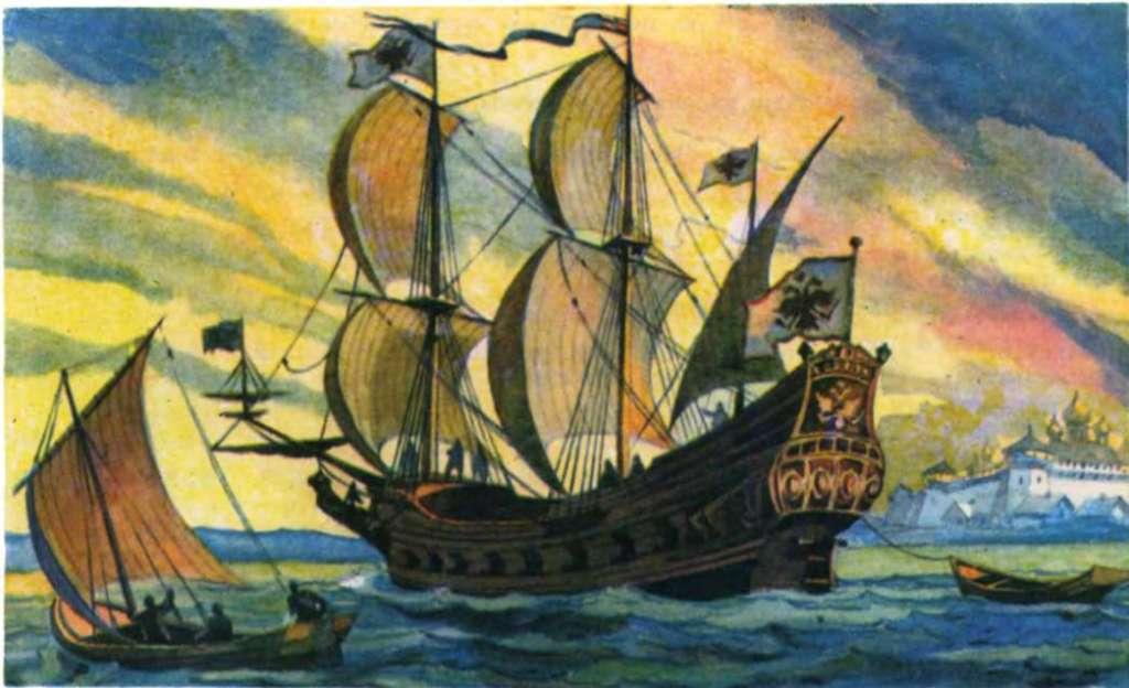 К 350-летию со дня спуска на воду первого русского фрегата «Орёл»