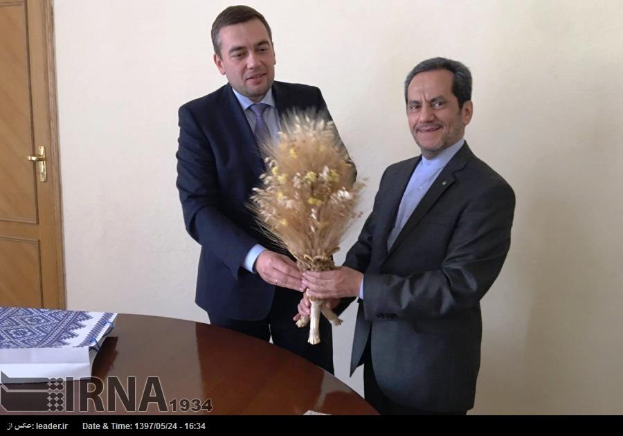 Киев призывает Тегеран к дальнейшему развитию сотрудничества