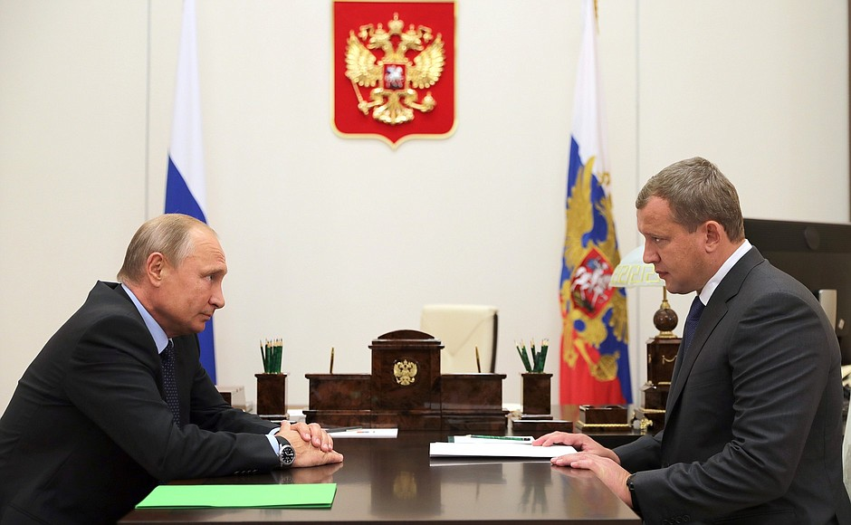 В Астрахани встретили нового губернатора – Сергея Морозова