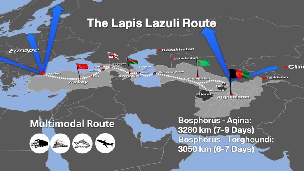 В Турции завершена тестовая перевозка по Лазуритовому коридору