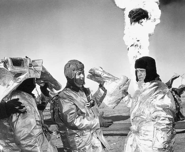 1985 год — авария на Тенгизском месторождении