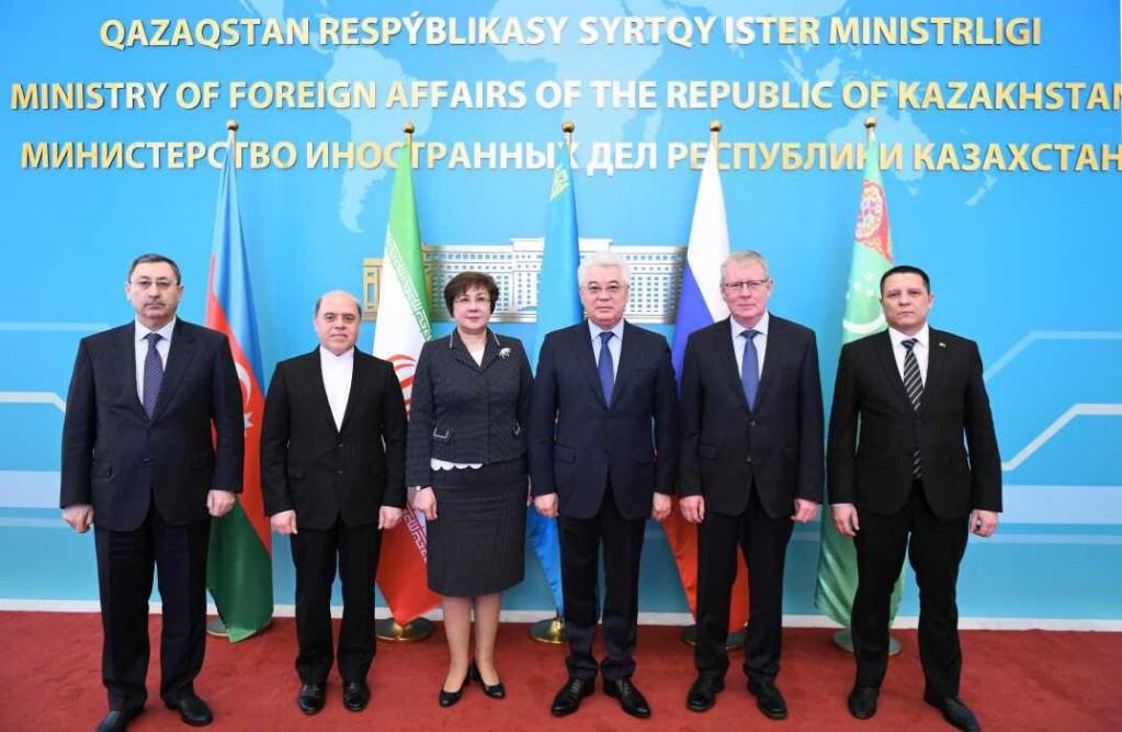 Коммюнике 2-го заседания Рабочей группы высокого уровня по вопросам Каспийского моря