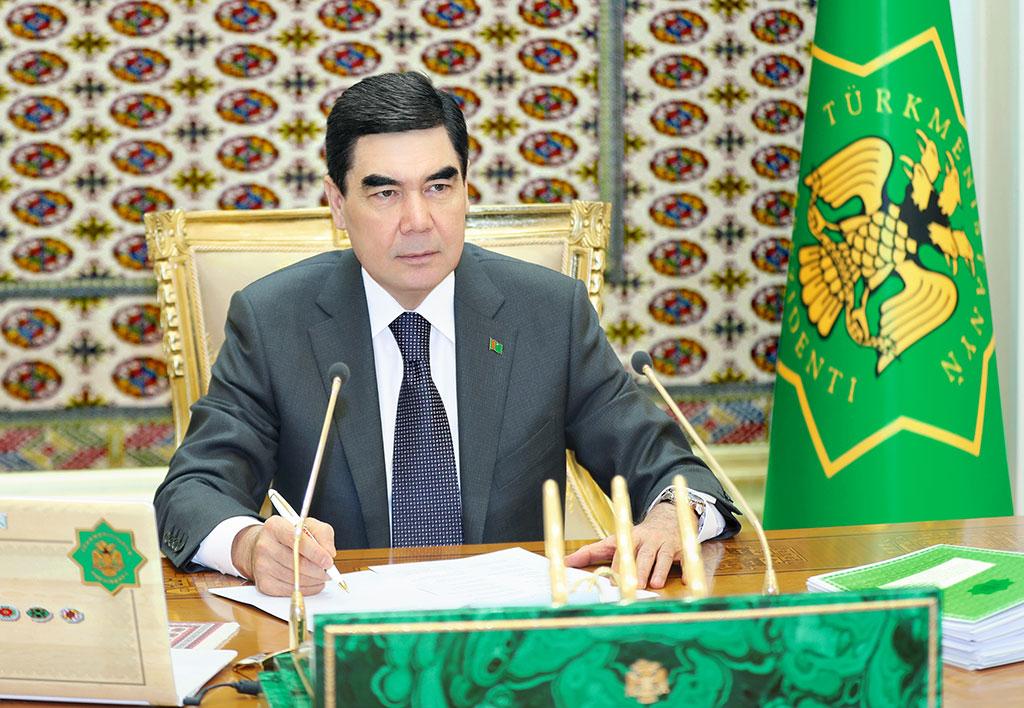 Президент Туркменистана утвердил протоколы по обеспечению безопасности на Каспии