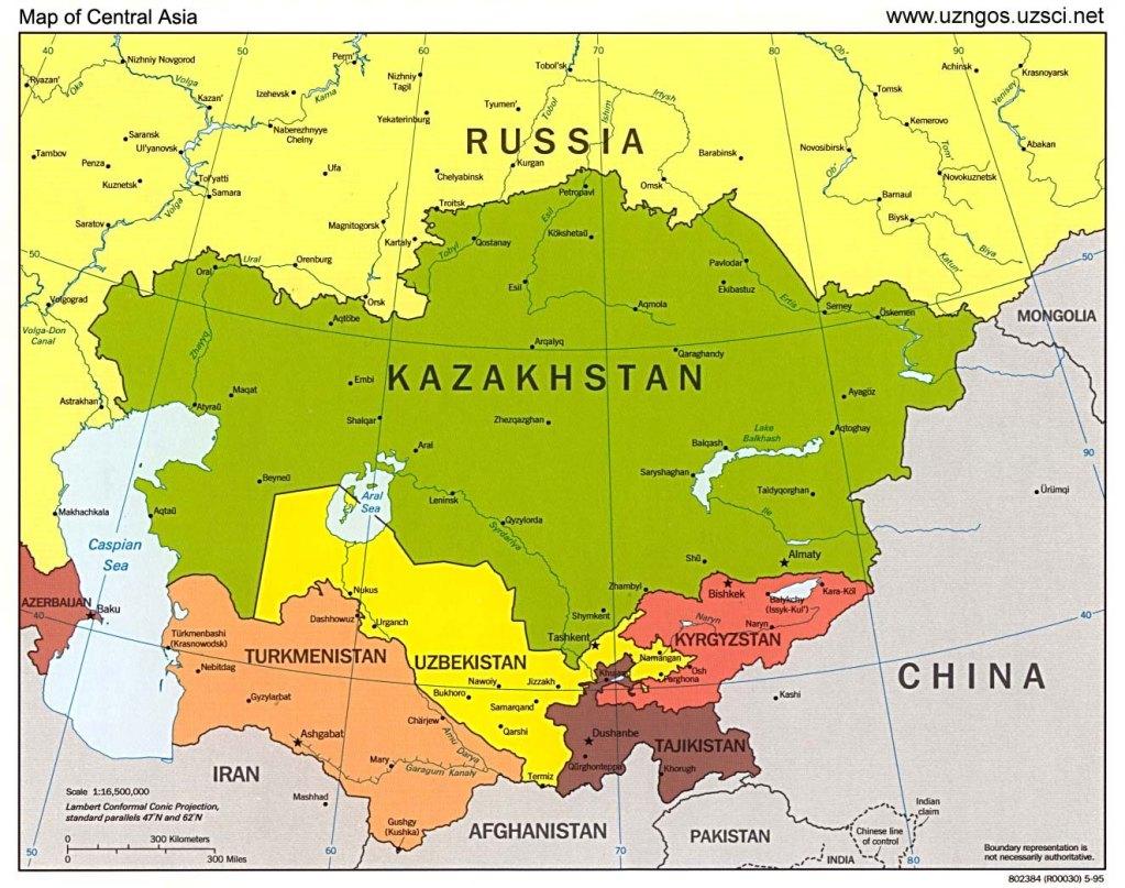 Казахстан как новый евразийский «Хартленд»