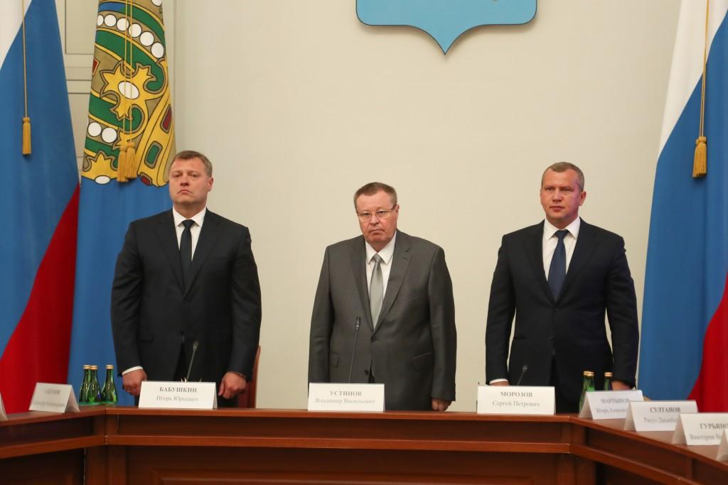 Представлен временно исполняющий обязанности губернатора Астраханской области