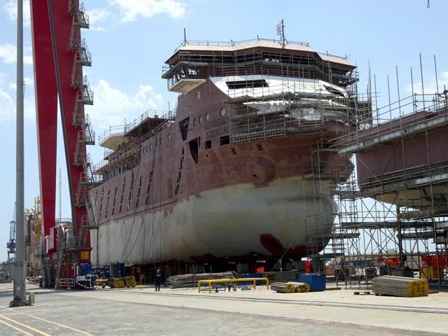 Строительство головного парома «Азербайджан» для Каспия  близится к завершению